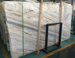 Amazing Lafi Marble Slab With Blue Color From Greece