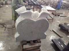 Grey Color Angel Tombstone Monuments With Nice Work