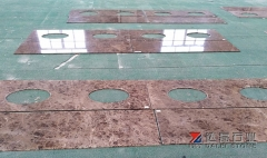Emperador Dark Marble Countertops Dalei Own Factory Cutting