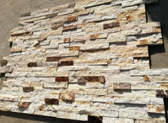 Double Color SandStone Slate Tiles Natural Surface