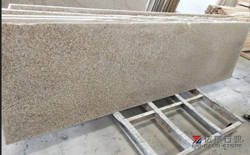 Yellow Rusty G682 Granite Polished Small Slabs
