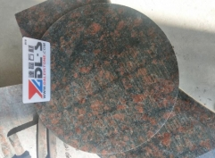 Tan Brown Granite Round Table Polished