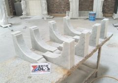 Carrara White Marble Tiles Polished and Honed