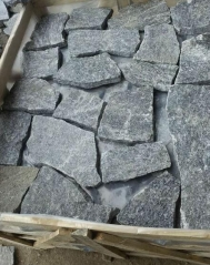 Black Basalt Black Granite Loose Wall Cladding