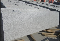Jilin White Bianco Granite Grey Granite Slabs Tiles