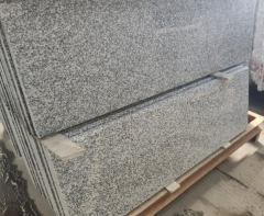 New G623 Granite Steps Risers Tiles Round Edge