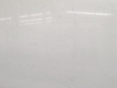 White Carrara White Quartz Stone Slabs Quartz Countertops