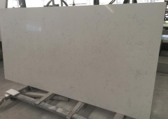 Carrara White Artificial Stone Engineer Stone Slabs