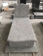 New G623 Granite Tombstone Mounment Poland Polish