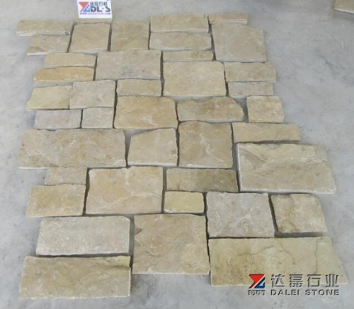 Yellow Loose Stone Cladding Dalei Stone Wholesale Stone