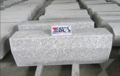 Grey Granite G602 Kerbstone Paving Stone Two Sides Flamed Chamfer