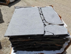 Blue Basalt Blue Stone Crazy Pavers Top Grinding #200 #200