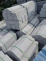 G633 Granite Grey Color Paving Stone Flame Finish