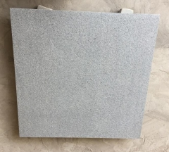 Padang Dark G654 Flamed Tiles Dark Grey Granite
