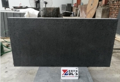 New G684 Black Basalt Flamed Brush Tiles
