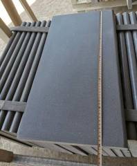 Hainan Black Basalt Copping Tiles Honed Finish Way