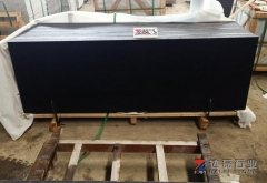 Dry Black Granite Slabs Pure Black Granite Slabs Polished