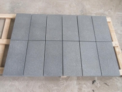 New G36 Dark Grey Granite Tiles Flamed Waterproof Dry finish Way