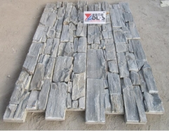 Grey Color Slate Tiles Culuture Stone Ledger Panels