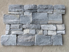 Blue Color Ledger Panels Culuture Stone Tiles
