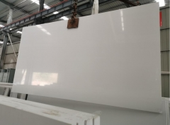 Pure White Quartz Big Slabs Artificial Stone Engineered Stone Big Slabs