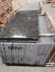 Polished Granite Tiles Tan Brown Granite Indian