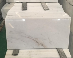 Arabescato Venato White Marble Thin Tiles Cut To Size