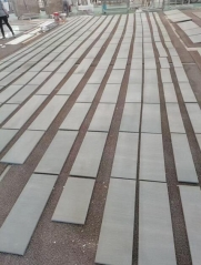 China Lyon Grey Ash Quartz Tiles Project